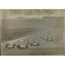 1967 Press Photo  Indianapolis 500-Mile Speedway Race