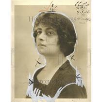 1923 Sophaie Braslaw Press Photo