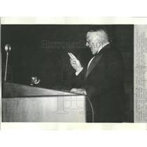 1935 Press Photo General Johnson NRA New Deal purge - RRT73937