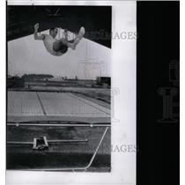 1962 Press Photo Astronaut M. Scott Carpenter Training