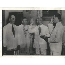 1939 Press Photo Admiral Harold R. Stack