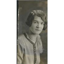 1927 Press Photo Helen Miller Chicago's Columbine Girl