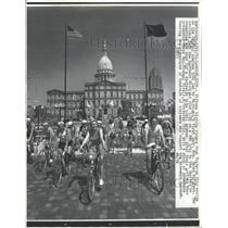 1972 Press Photo Traverse City Bike Ways Petition - RRT77781