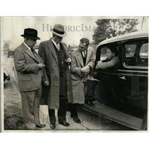 1935 Press Photo Louis Earle Bob Merels Detroit Race - RRT33327