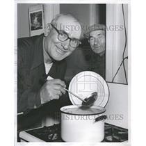 1957 Press Photo Waclaw Niklewicz John Szantroch Winner