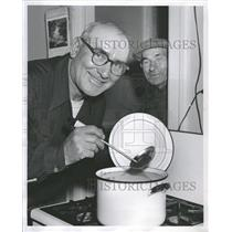 1957 Press Photo Waclaw Niklewicz John Szantroch Winner - RRT88485