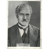 1931 Press Photo Ramsay MacDonald,British Labour - RRT70075