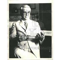 1933 Press Photo Ex-President Machado of Cuba - RRT70217