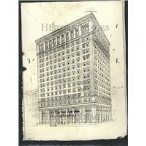 1919 Press Photo Wolverine Hotel Twelth Street Detroit - RRT05455