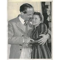 1940 Press Photo Bill Powell and Diane Lewis Elope - RRT84503