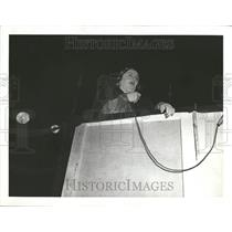 1938 Press Photo Albertina Rosch Dance Director Speaker