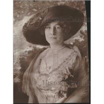 1915 Press Photo Profile picture Mrs Grace O Wens - RRT62153