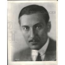 "1930 Press Photo Paul Lukas ""The Benson Murder Case"" ""B - RRT64765"