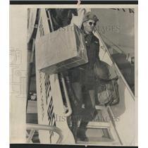 1963 Press Photo Lieutenant Armored Troops Bergstorm - RRT91021