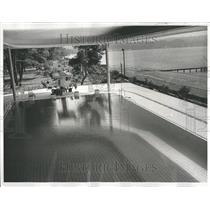 1963 Press Photo Khrushchev Summer Place - RRT29875