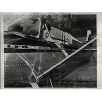 1949 Press Photo Stan Moore Ariel Paper Route Sundays - RRT33427