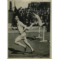 1925 Press Photo EH Riley American Wins British Amateur Race