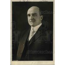 1923 Press Photo Dr TA Jagger vulcanologist of the US Weather Bureau will be