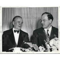 1941 Press Photo National Famed Chicago Sportsman Sheldon Clark & Avert Bundage