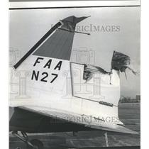 1968 Press Photo Government Plane Checking Run Way - RRS23137