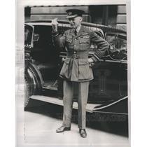 1939 Press Photo Kenya Canada British Air Veteran  Lond