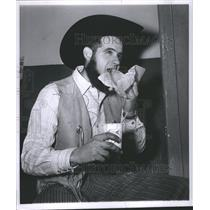 1960 Press Photo Horse Auction Edward Fairdround Bill - RRS41373