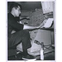1962 Press Photo John Misaros Puppet Manipulator - RRS71777