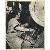 1939 Press Photo Arider Company Mildred Wiley - RRS38019