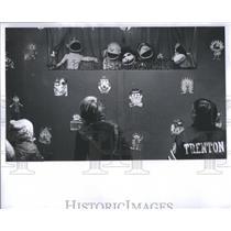 1976 Press Photo Puppets
