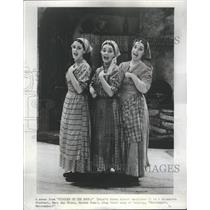 """1970 Press Photo """"Fiddler on the Roof"""" Cast Singing - RRS35867"""