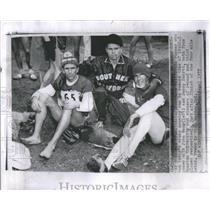 1957 Press Photo Max Truex Runner John Macy Jerry Samrt - RRS91363