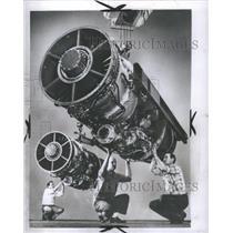 1953 Press Photo Aero Greek Flight Engine English - RRS31289