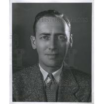 1953 Press Photo Jack White Producer Actor Vocalist - RRS66941