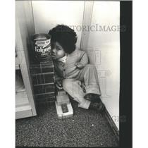 1978 Press Photo Spaulding school handicapped kids