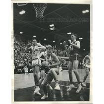 1966 Press Photo Maine East High School Players. - RRS23477