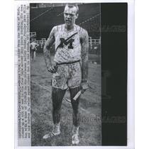 1961 Press Photo Ergas LepsOhio State Stadium Univ Mich - RRS23893