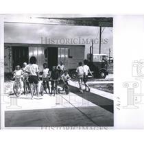 1966 Press Photo Children Cycles House Frank Turnbrello - RRS90703