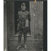 1919 Press Photo Heinrich Pickert Army Detroit - RRS74759