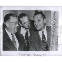 1954 Press Photo Bob Carpenter Walter OMalley Gabe Paul - RRS98987