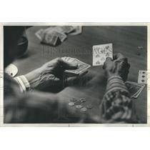1978 Press Photo Men Playing Poker - RRS09571
