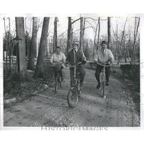 1969 Press Photo Bruce Bachman Morgolid Bicycle People - RRS05903