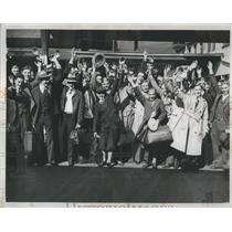 1933 Press Photo Detroit News Boys Chicago World Fair - RRS99331
