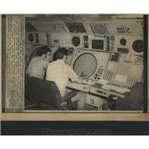 1971 Press Photo Automated Radar Terminal System Denver - RRS17197