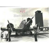 1980 Press Photo Auntie Ju Spanish German Lufwaffe Air - RRS82635