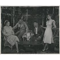 1947 Press Photo Beth Merrill john Sidney Blocker - RRS17529
