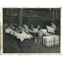 1947 Press Photo Laundry School Industria Pennsylvania - RRS06553