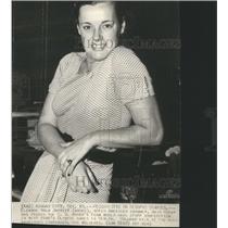 1935 Press Photo American Swimmer Eleanor Holm Jarrett - RRS55095