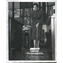 1955 Press Photo Magnet Ferromagnetic Notable Iron - RRS31593