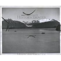 1950 Press Photo Spectacular  British Columbia Alaska