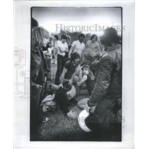 1979 Press Photo A stabbing Stab Connotes Purposeful ac - RRS53831